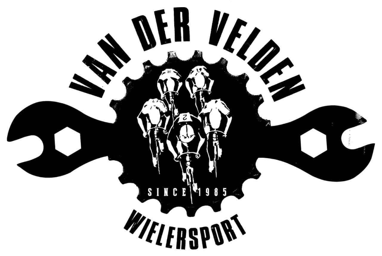 Logo van der velden wielersport